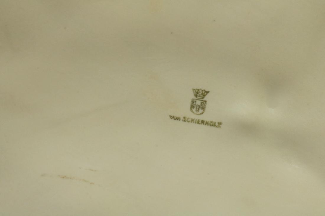 Von Schierholz German White Porcelain Horse - 5