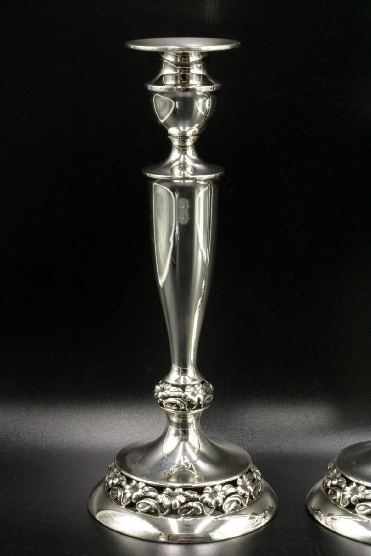 Mueck Carey Co. Sterling Silver Candle Sticks - 2