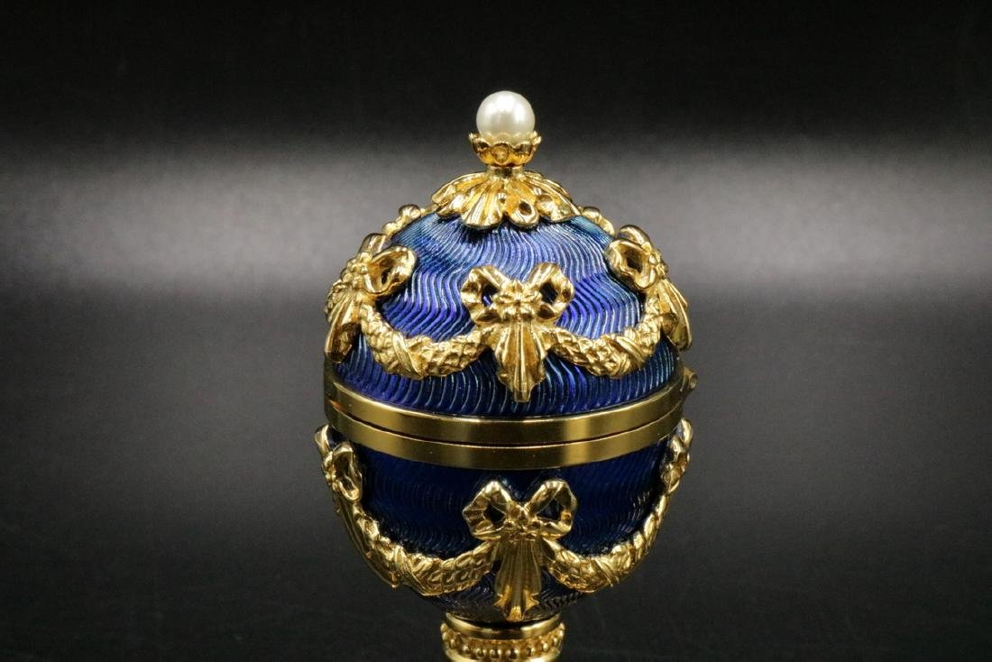 House of Faberge, Franklin Mint Imperial Heirloom Clock - 2