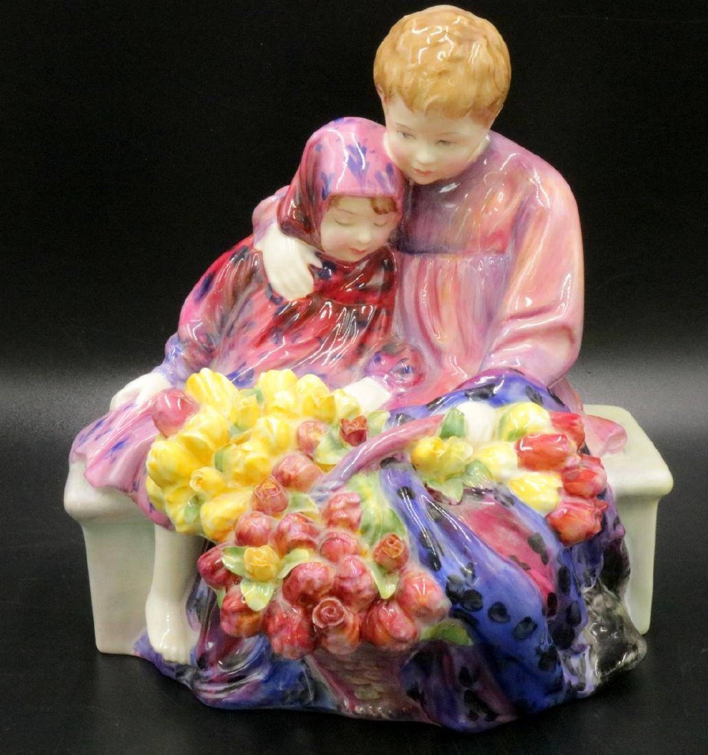 "Royal Doulton ""Flowers Sellers Children"" Porcelain"