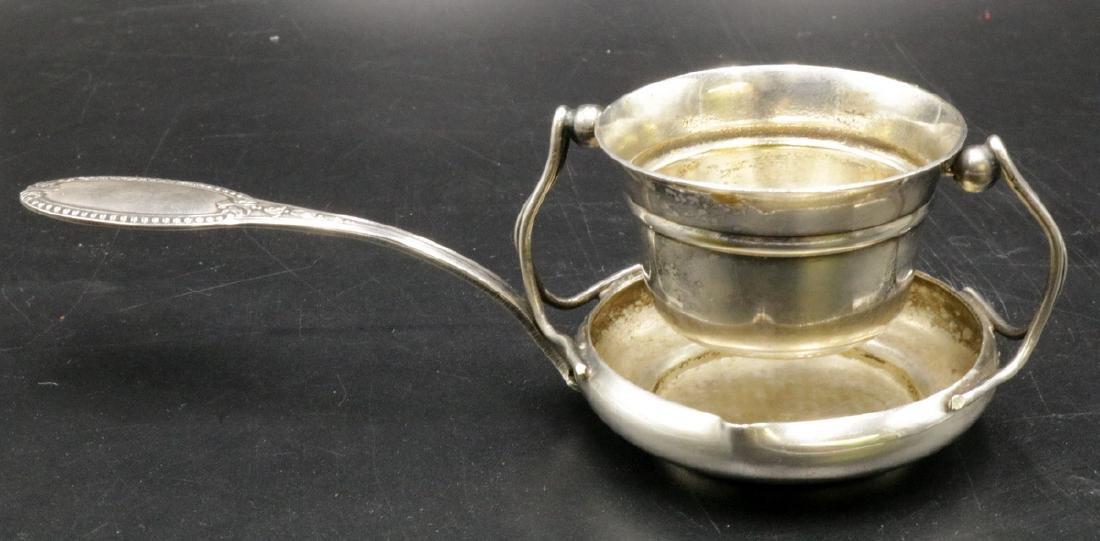 Antique Sterling Silver Tea Strainer