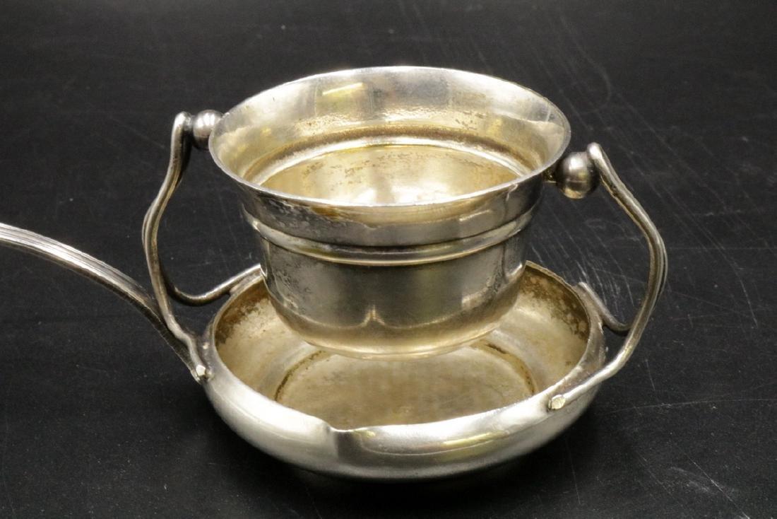 Antique Sterling Silver Tea Strainer - 2