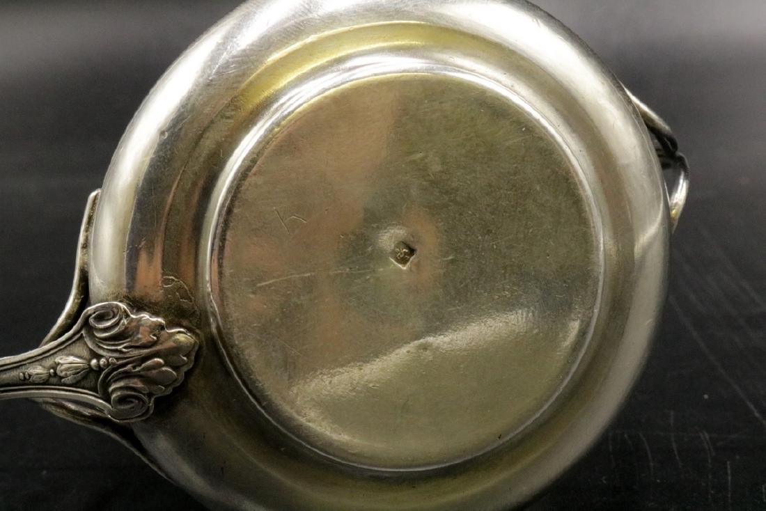 Antique Sterling Silver Tea Strainer - 4