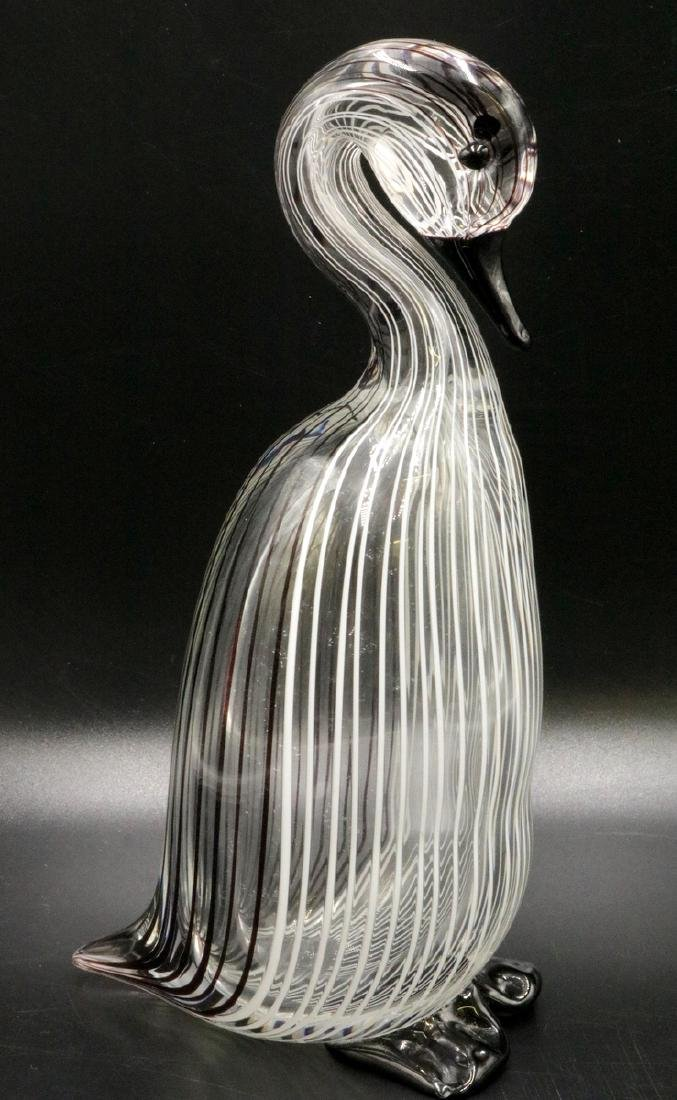 Licio Zanetti Italian Art Glass Duck