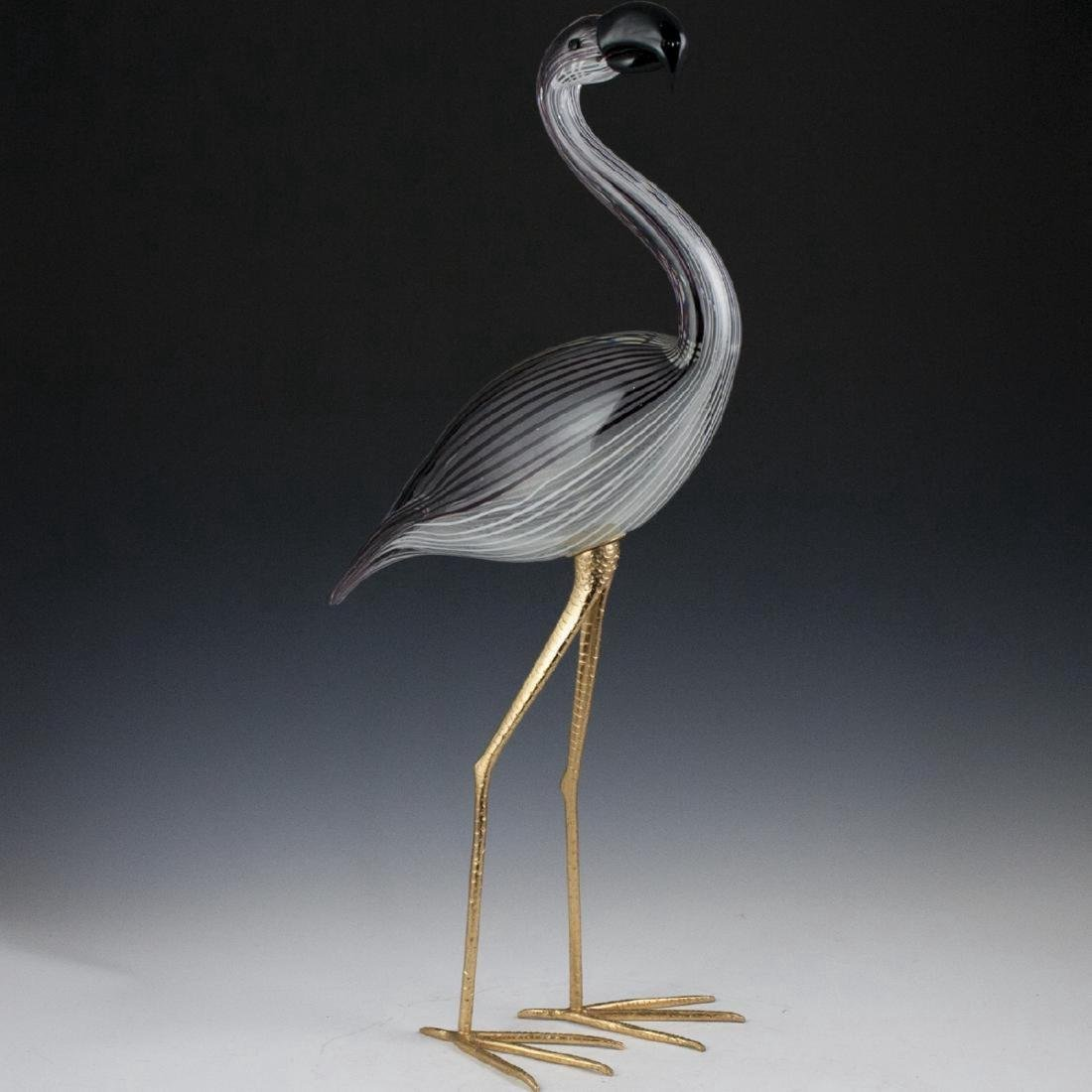 Licio Zanetti Italian Art Glass Flamingo