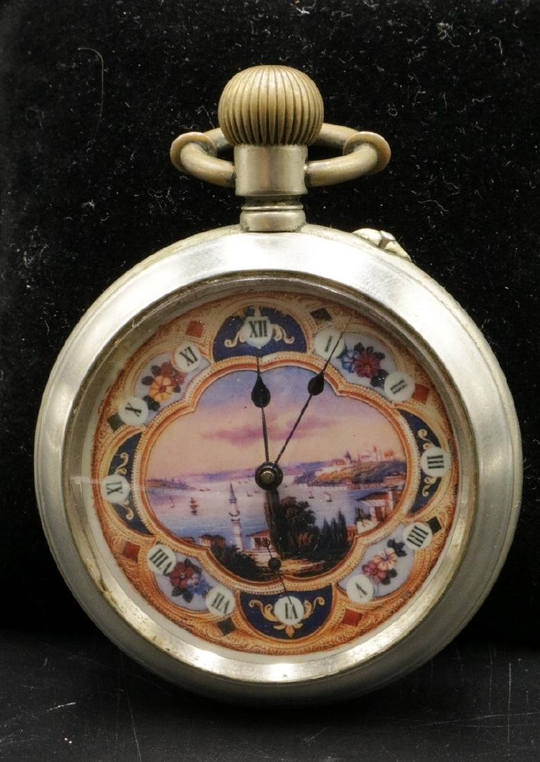 Transfer Portrait Pocket Watch