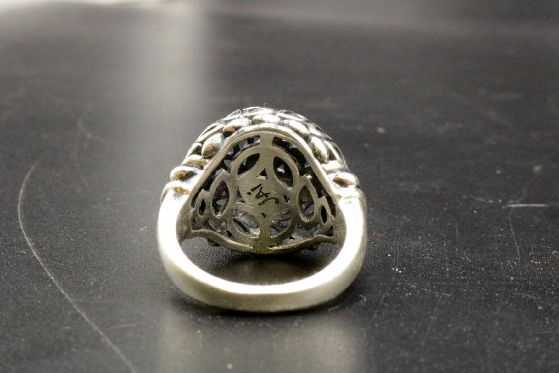 John Hardy Jai Thailand 14Kt & Sterling Ring - 3