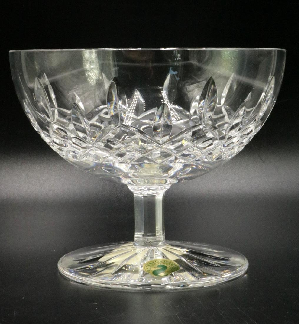"Waterford ""Lismore"" Crystal Compote"