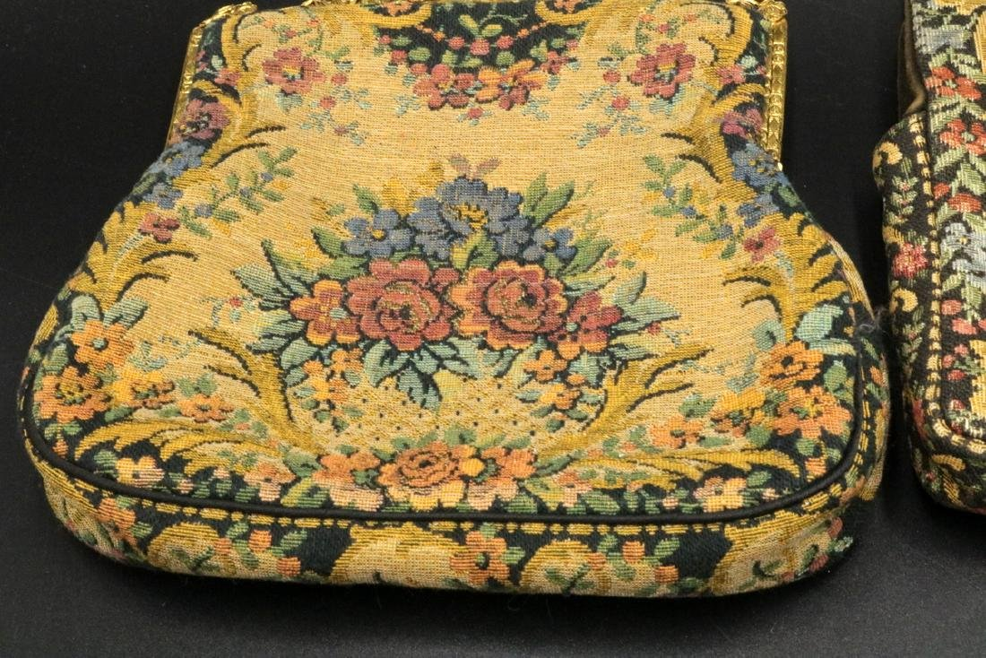 Antique French Tapestry Purses - 2