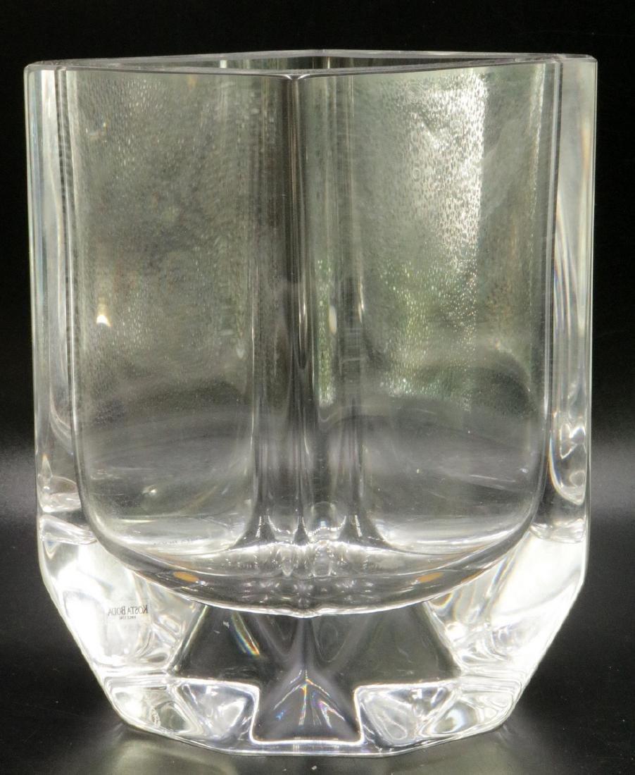 Kosta Boda Crystal Vase