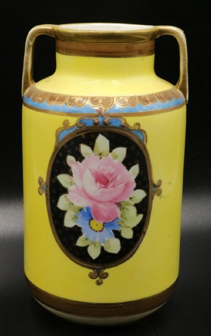 Noritake Hand Painted Porcelain Vase