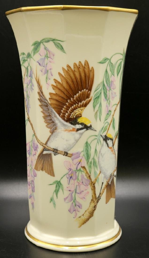 Lenox Presidential Garden Collection Porcelain Vase
