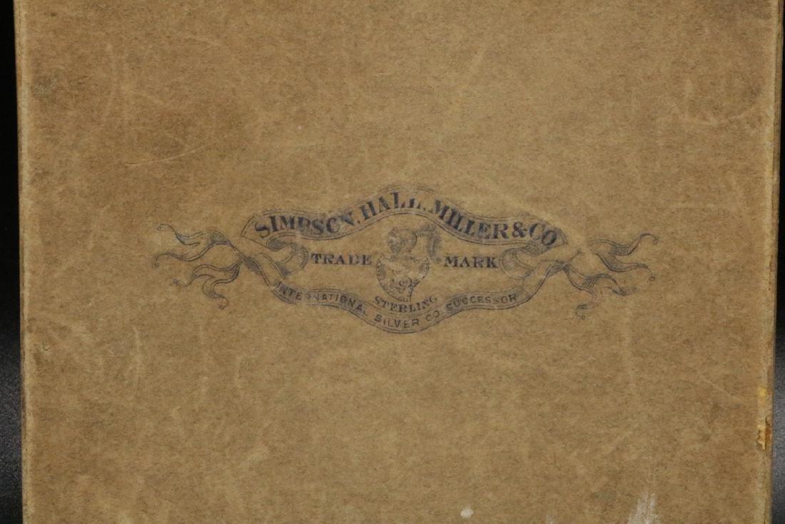 6 Pc. Simpson Hall Miller & Co. Sterling Cocktail Forks - 2