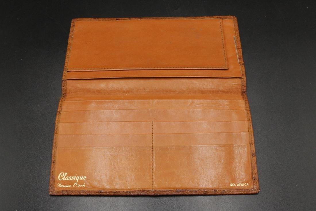 Genuine Ostrich Travel Wallet - 2