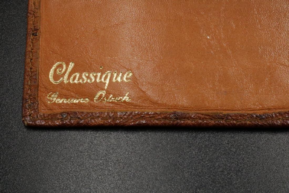 Genuine Ostrich Travel Wallet - 3