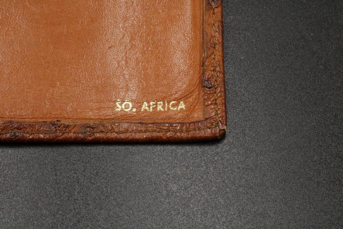 Genuine Ostrich Travel Wallet - 4