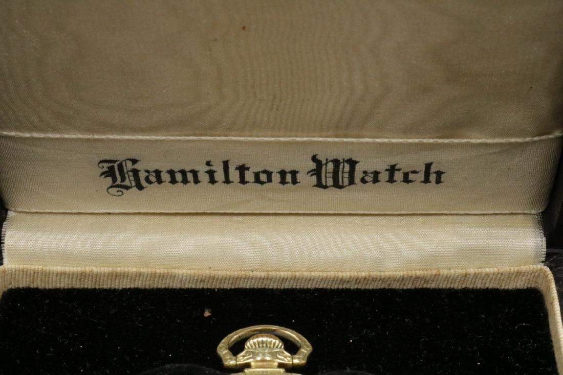 Hamilton 14Kt Gold Filled Pocket Watch - 2