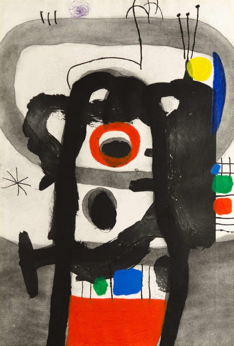 "Rare Joan Miro (1893-1983) ""L'Enrage"" Aquatint"