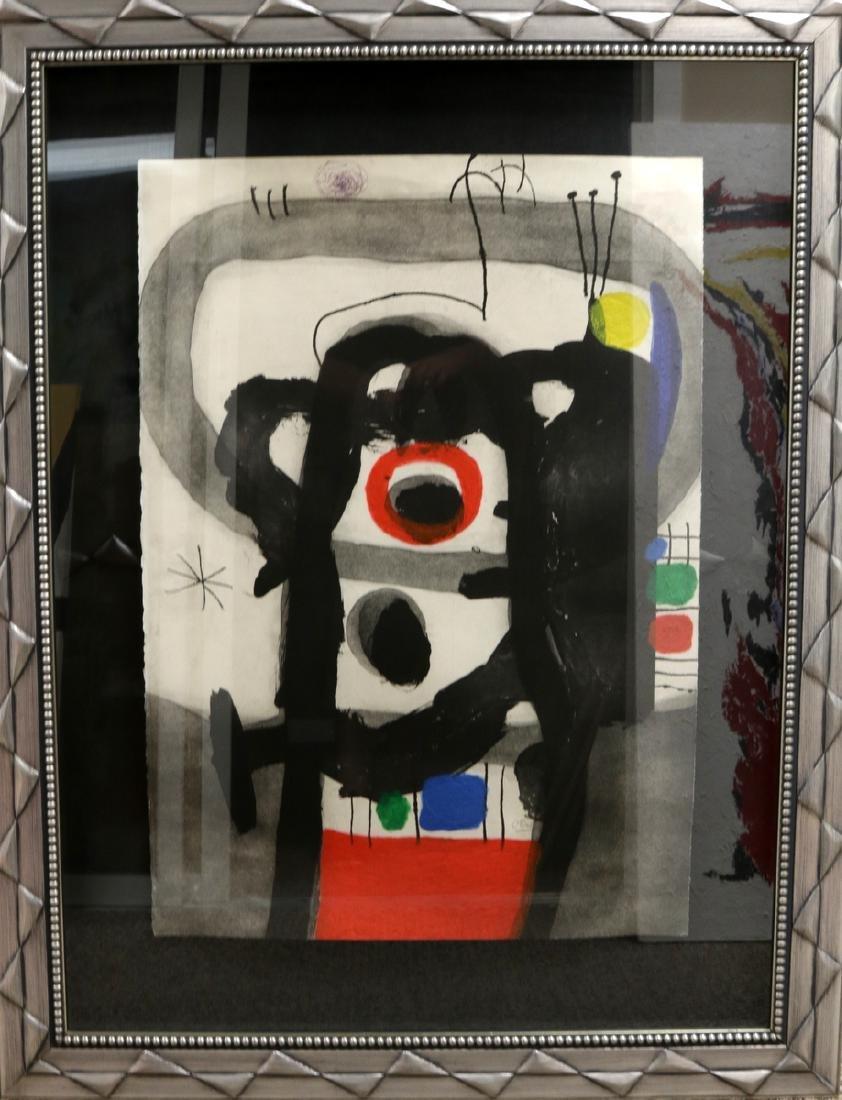 """Rare Joan Miro (1893-1983) """"L'Enrage"""" Aquatint - 2"""