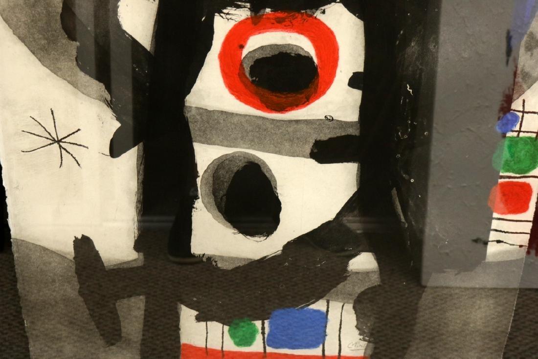"""Rare Joan Miro (1893-1983) """"L'Enrage"""" Aquatint - 4"""