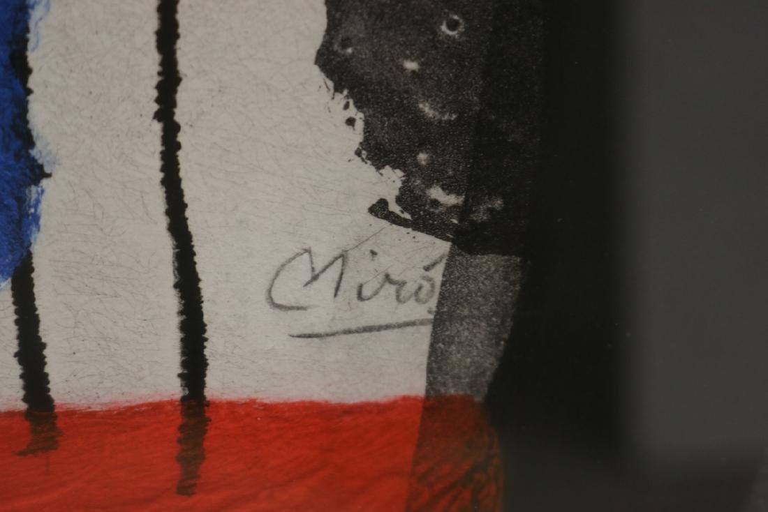 """Rare Joan Miro (1893-1983) """"L'Enrage"""" Aquatint - 5"""