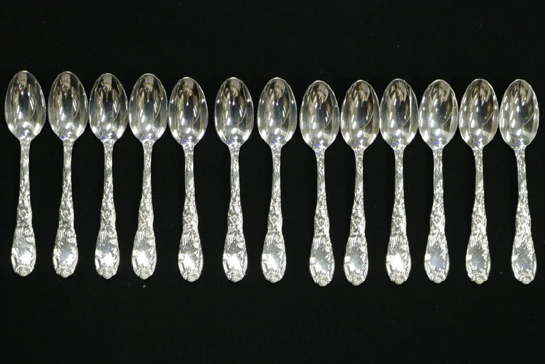 "67 Pc. Tiffany & Co. ""Chrysanthemum"" Sterling Flatware - 8"
