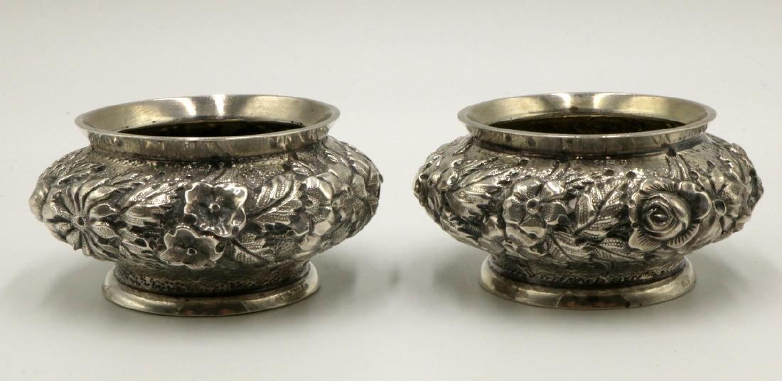 Pair of Schofield & Co. Sterling Silver Salt Cellars