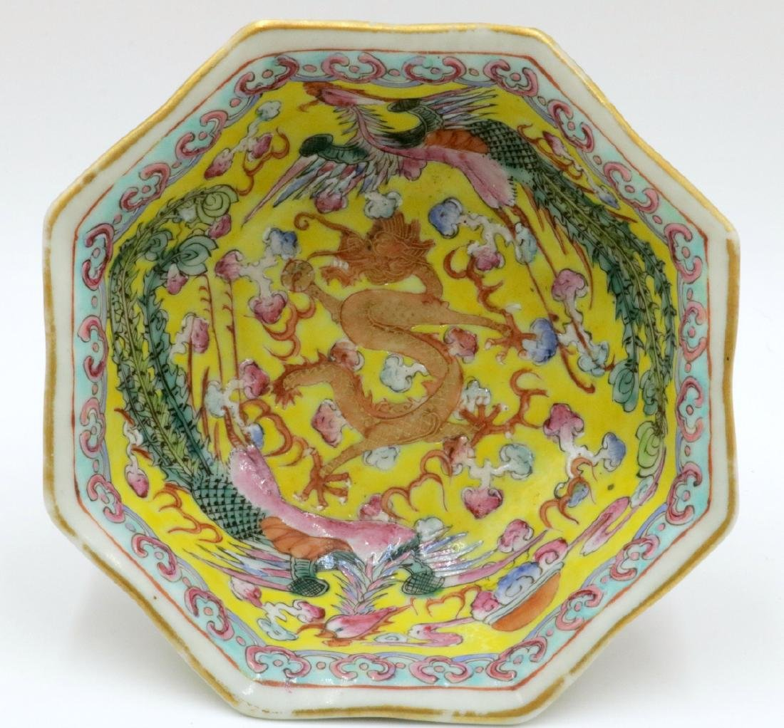 Antique Chinese Hand Painted Porcelain Bowl