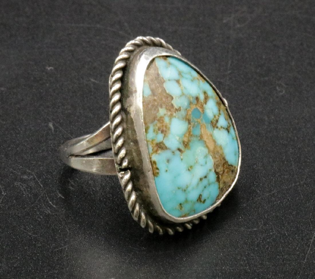 Navajo Turquoise & Sterling Ring