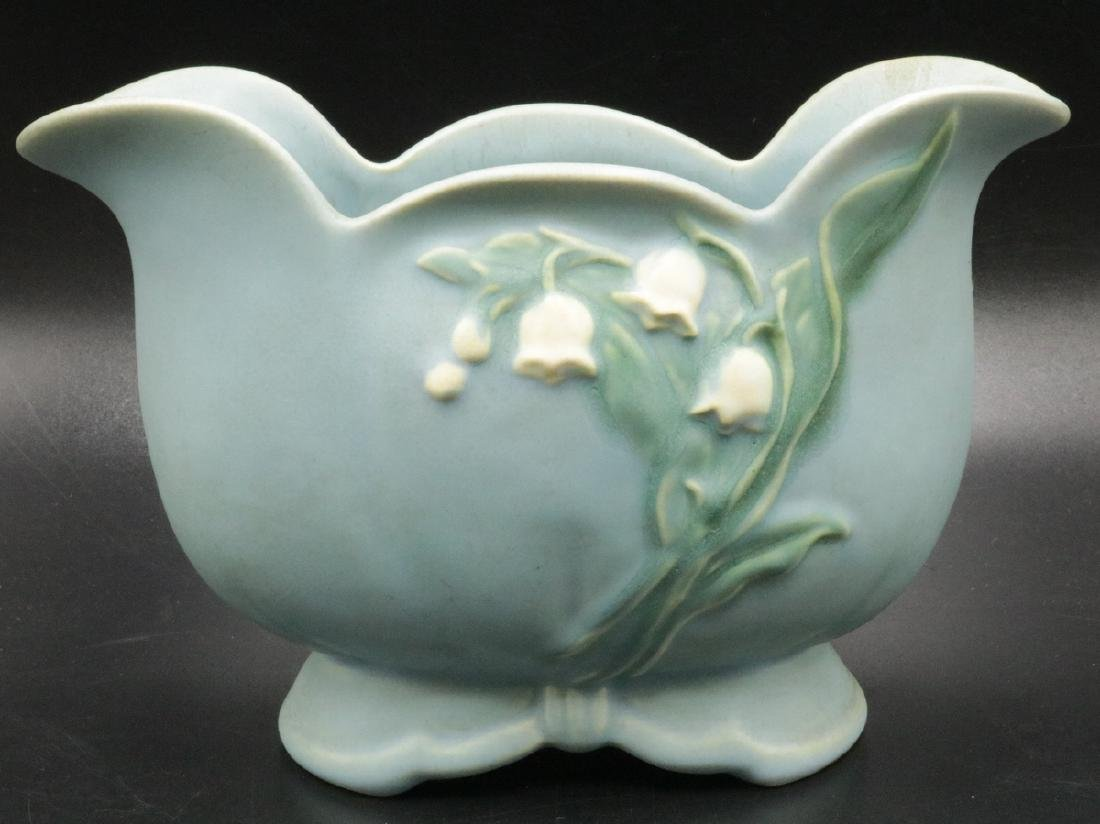 "Weller ""Lily of the Valley"" Pottery Vase"