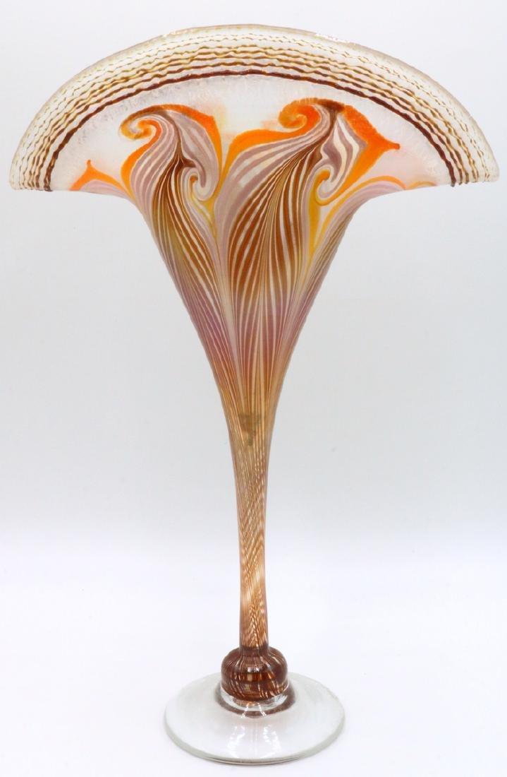Vandermark Iridescent Art Glass Vase