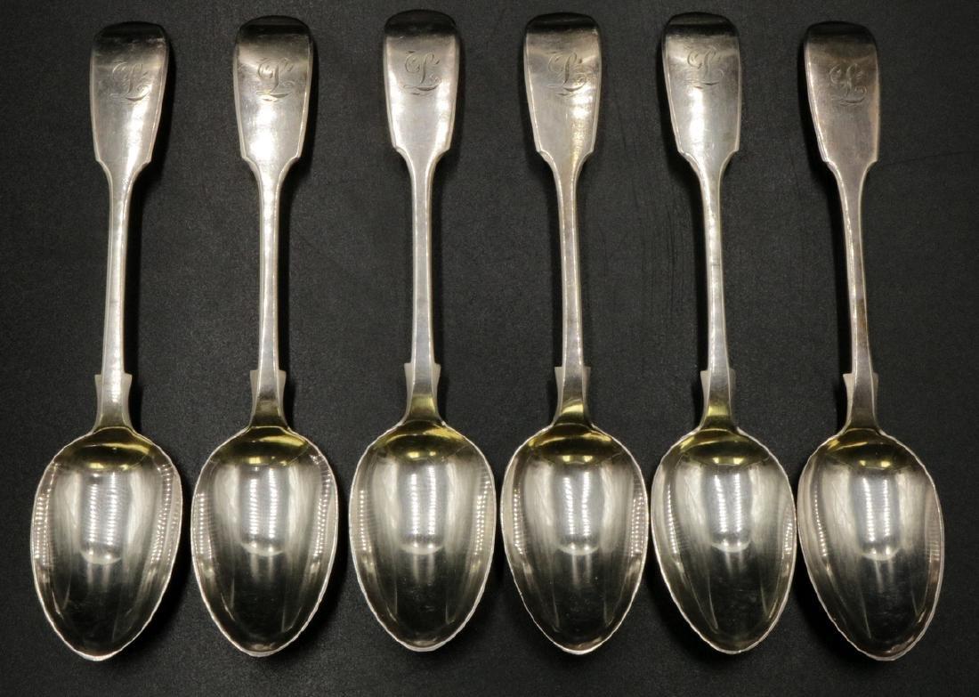 6 Pc. Charles Boynton Sterling Tea Spoons