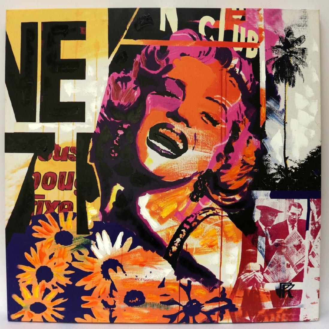Contemporary Marilyn Monroe Pop Art