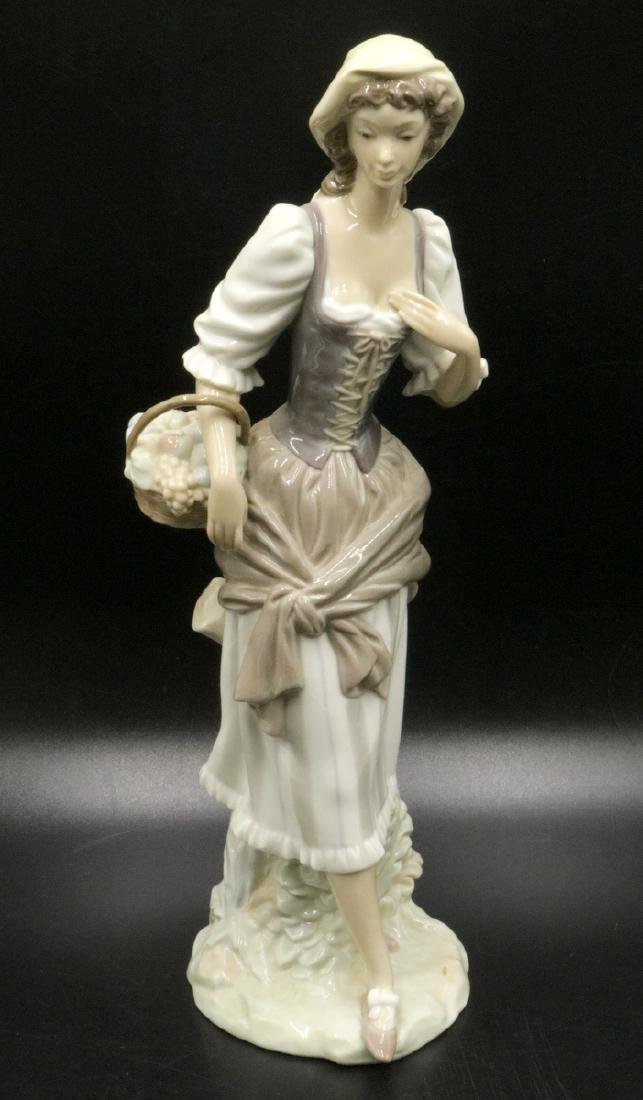 Lladro Woman Porcelain Figure