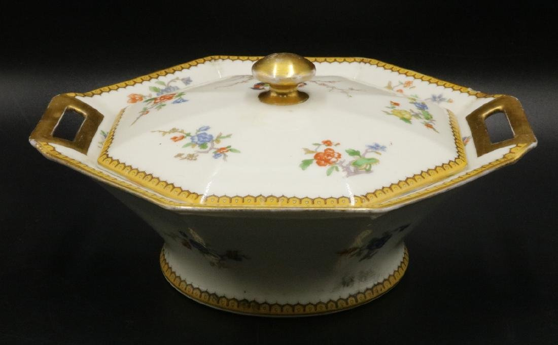 "Theodore Haviland Limoges ""Eden"" Porcelain Covered"