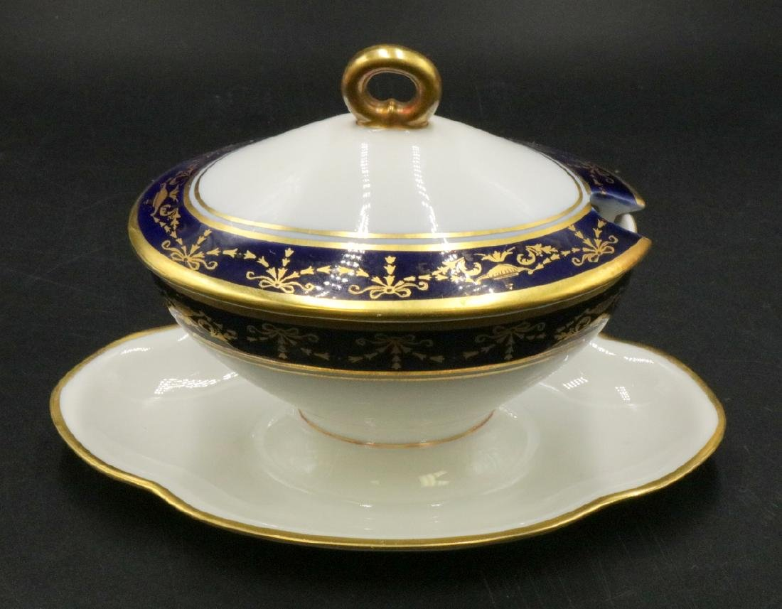 Richard Ginori Porcelain Covered Dish