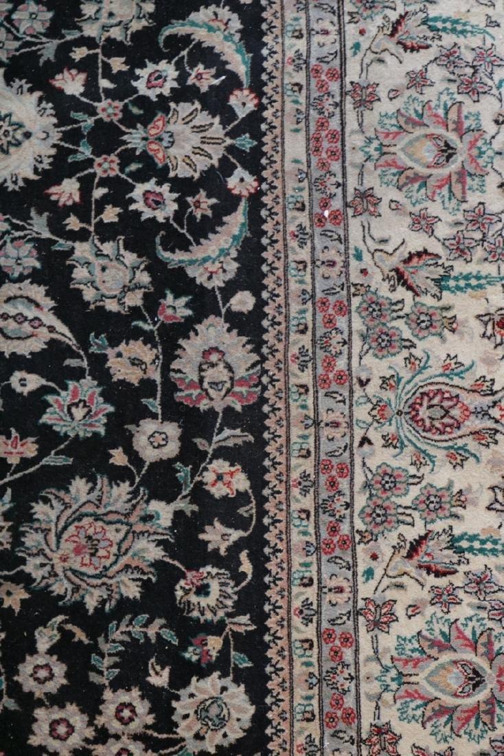 Large 10' x 8' Silk/Wool Rug - 4