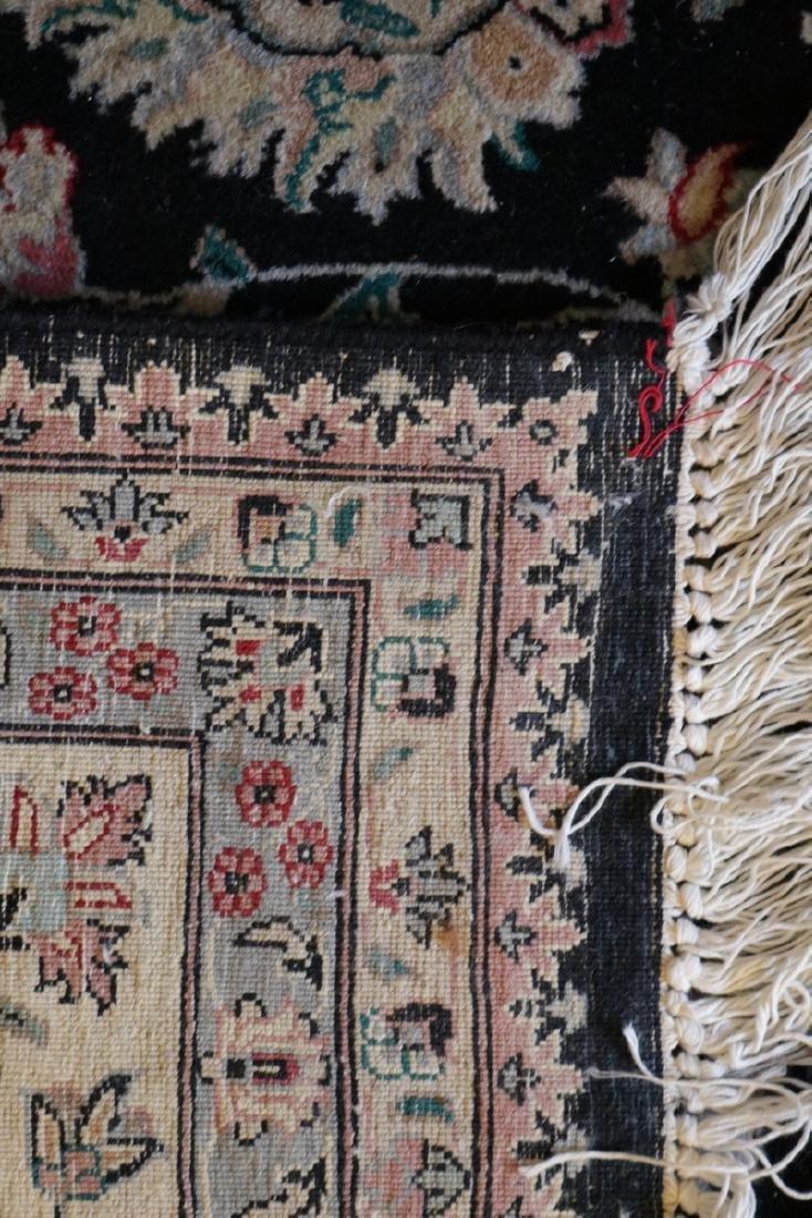 Large 10' x 8' Silk/Wool Rug - 5