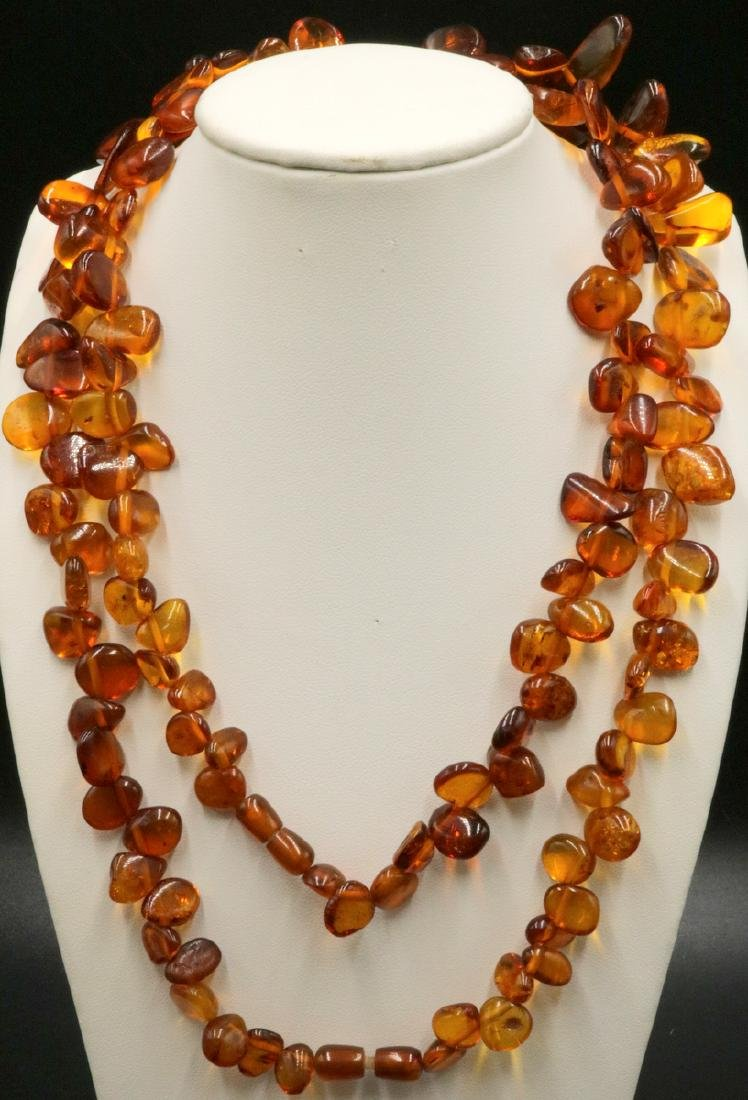 Natural Antique Amber Necklace