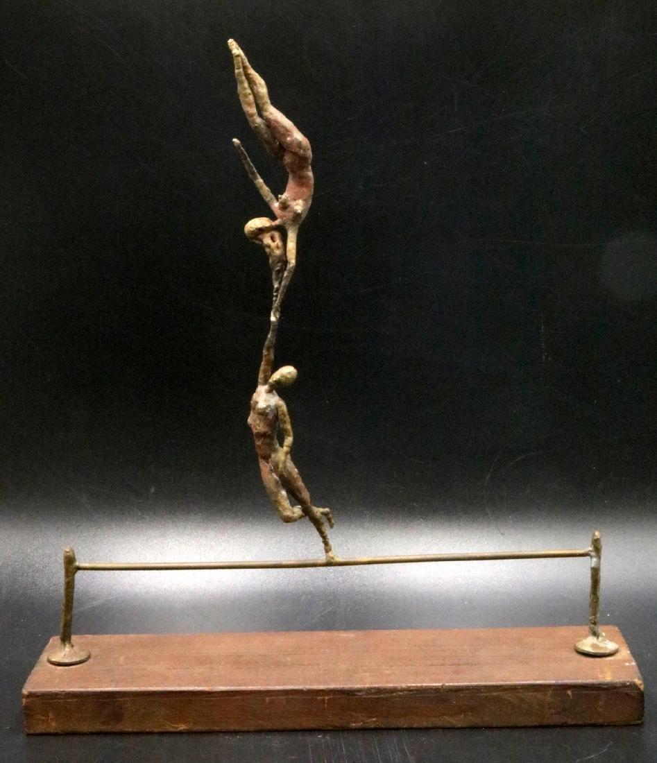 Jacques Vanroose Style Bronze Sculpture