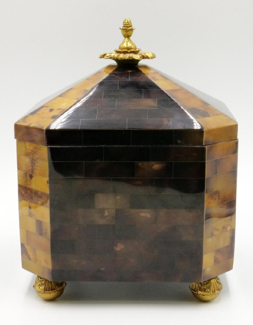 Maitland Smith Penshell Covered Box