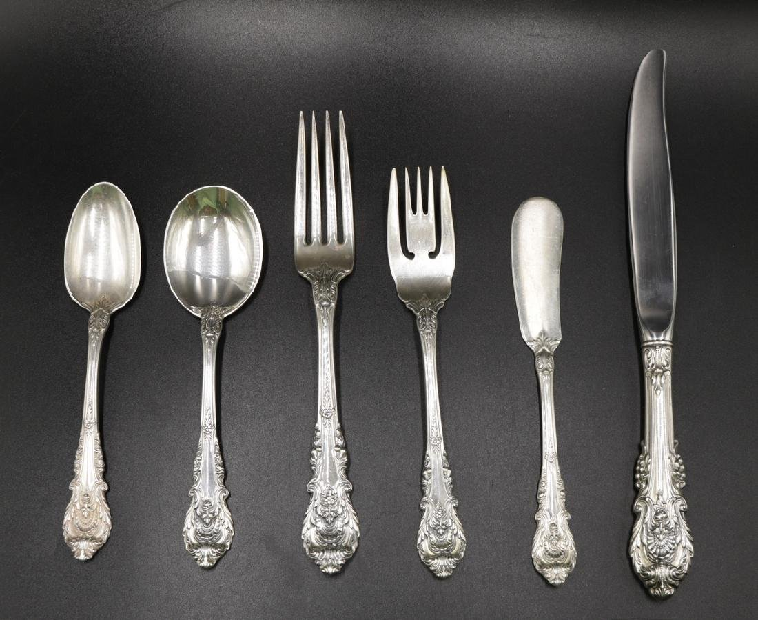 "78 Pc. Wallace ""Sir Christopher"" Sterling Flatware Set"
