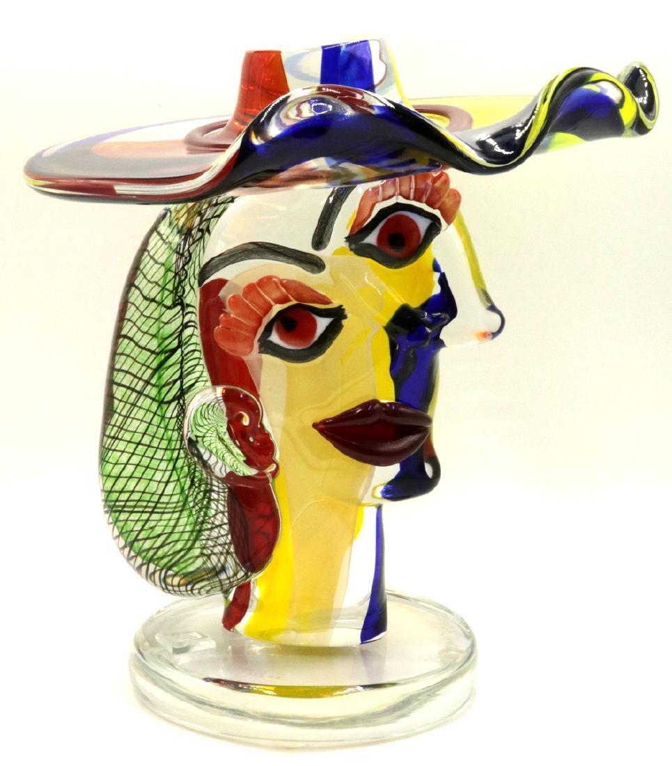Walter Furlan Italian Murano Art Glass Sculpture