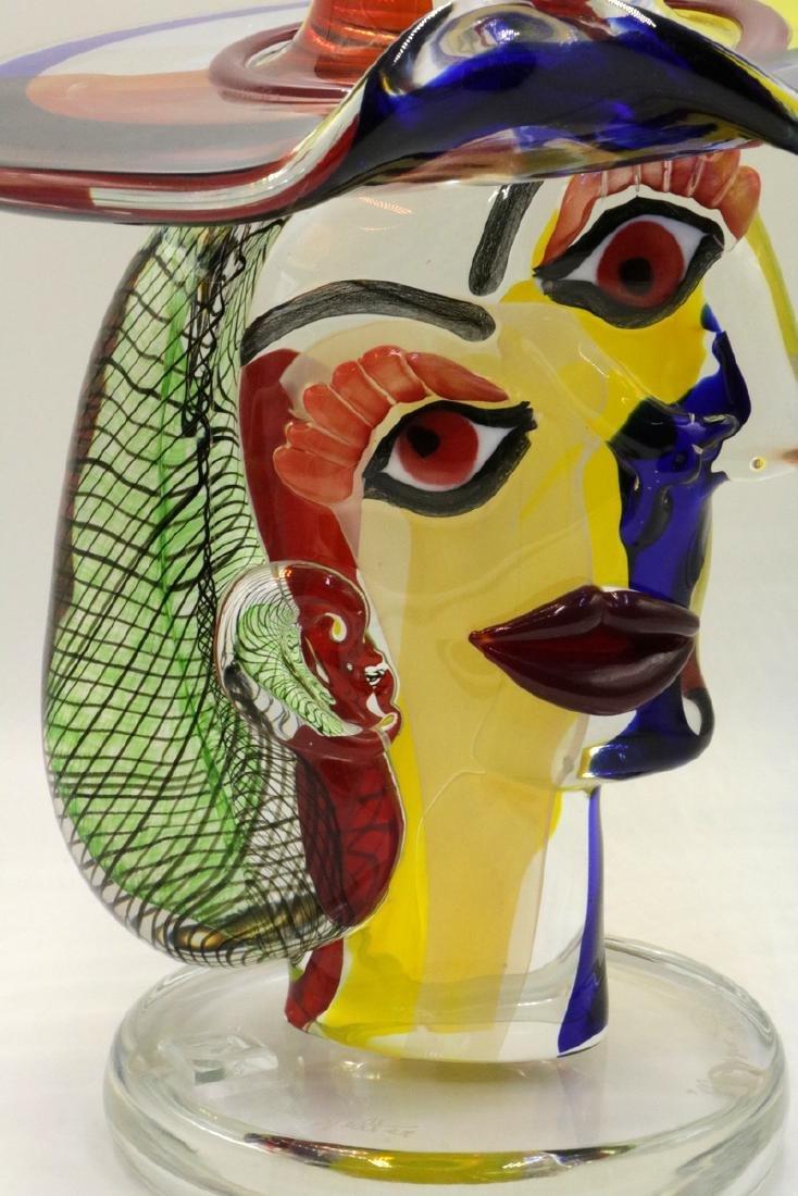 Walter Furlan Italian Murano Art Glass Sculpture - 2
