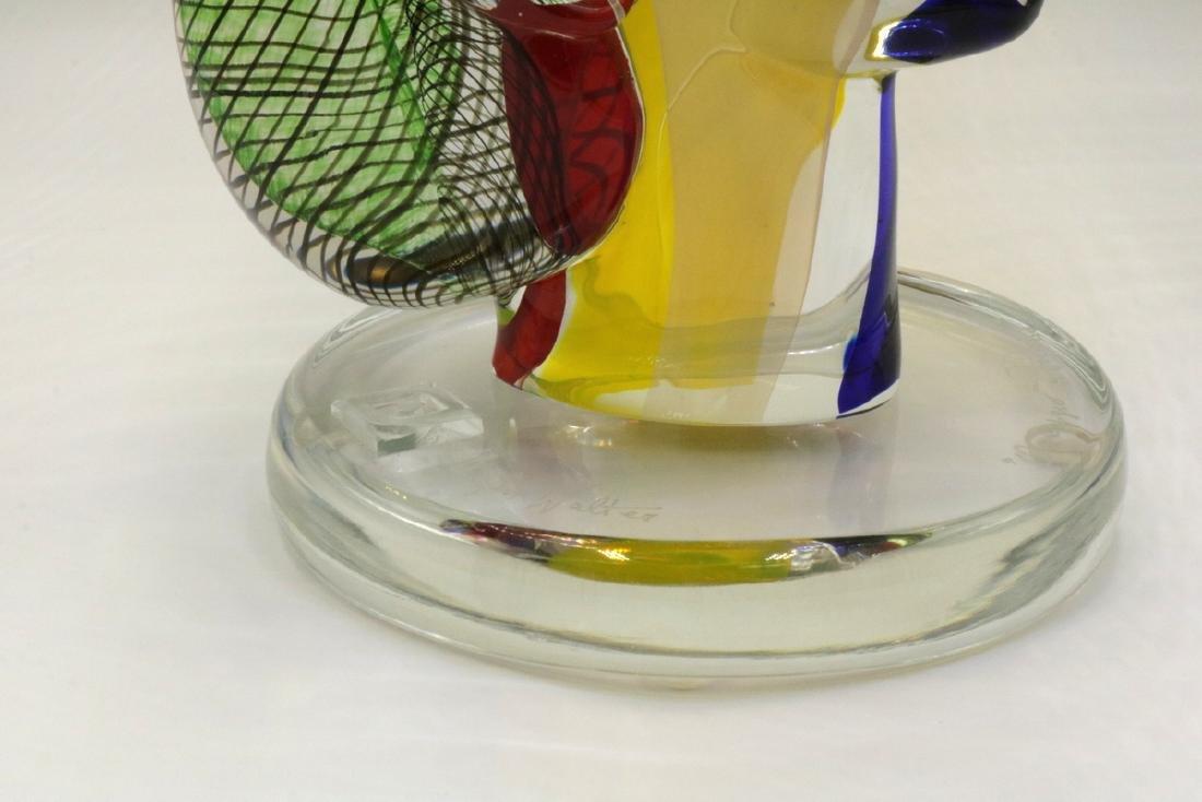 Walter Furlan Italian Murano Art Glass Sculpture - 4