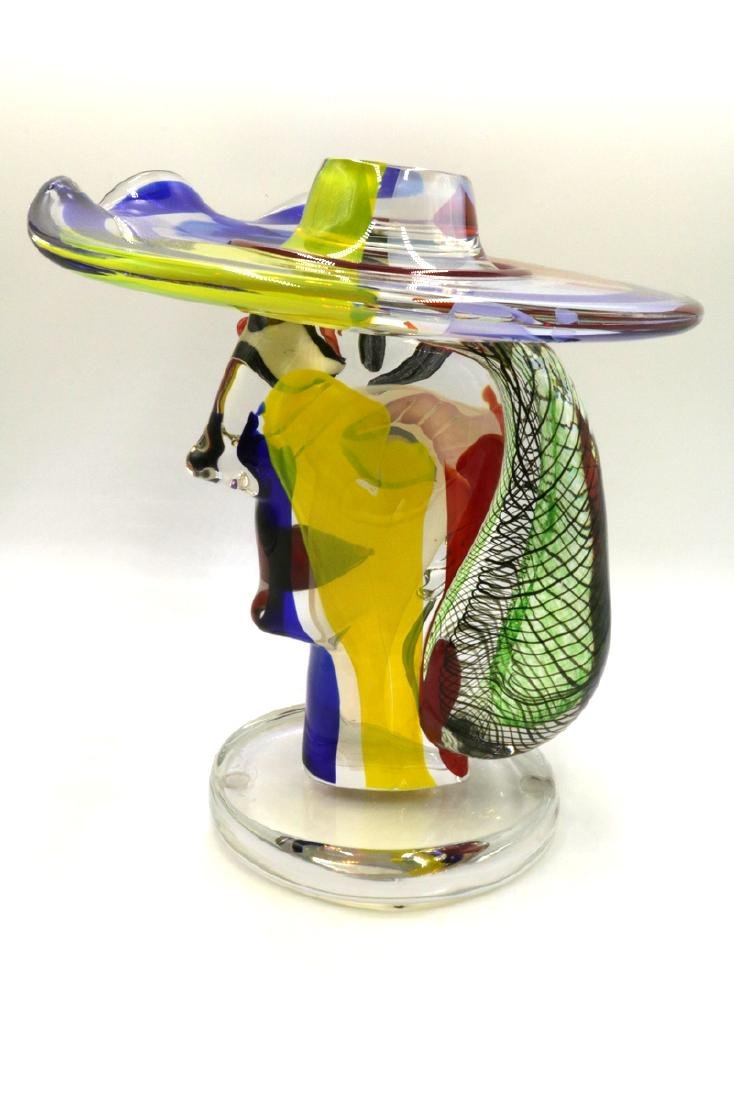 Walter Furlan Italian Murano Art Glass Sculpture - 7