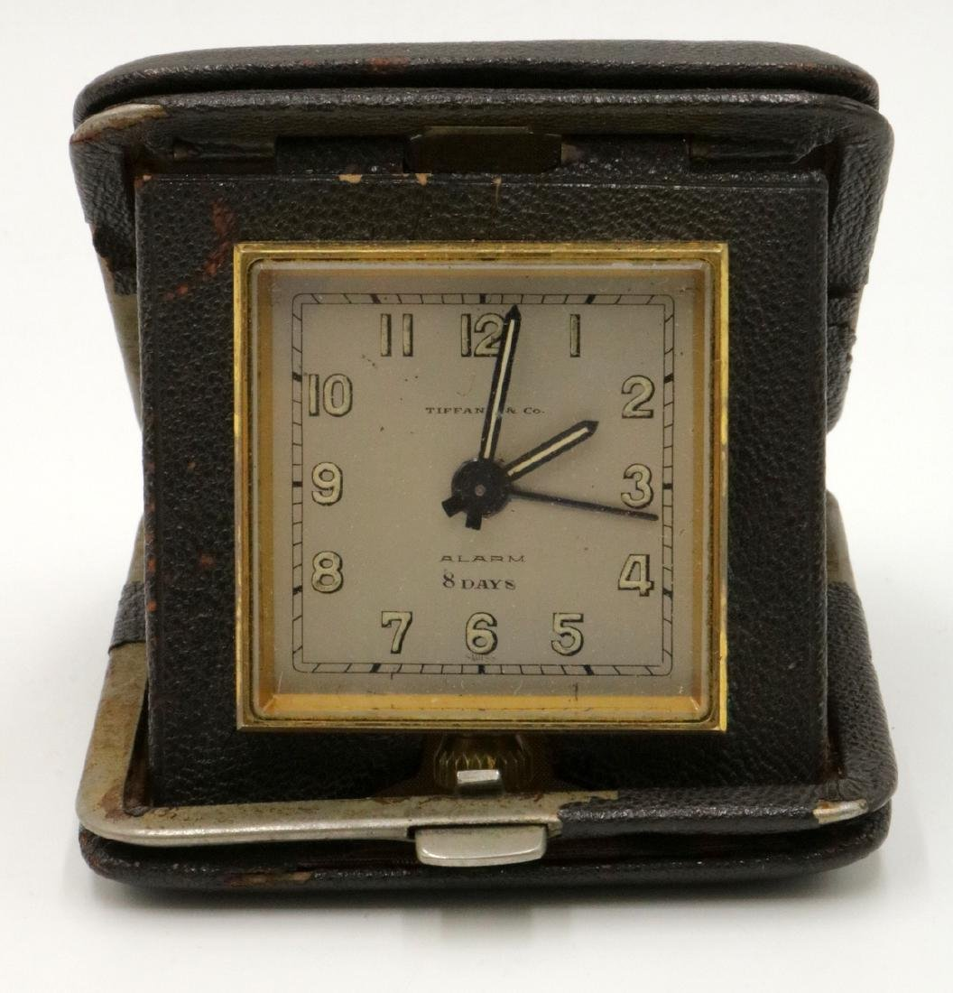 Antique Tiffany & Co. 8-Day Travel Clock