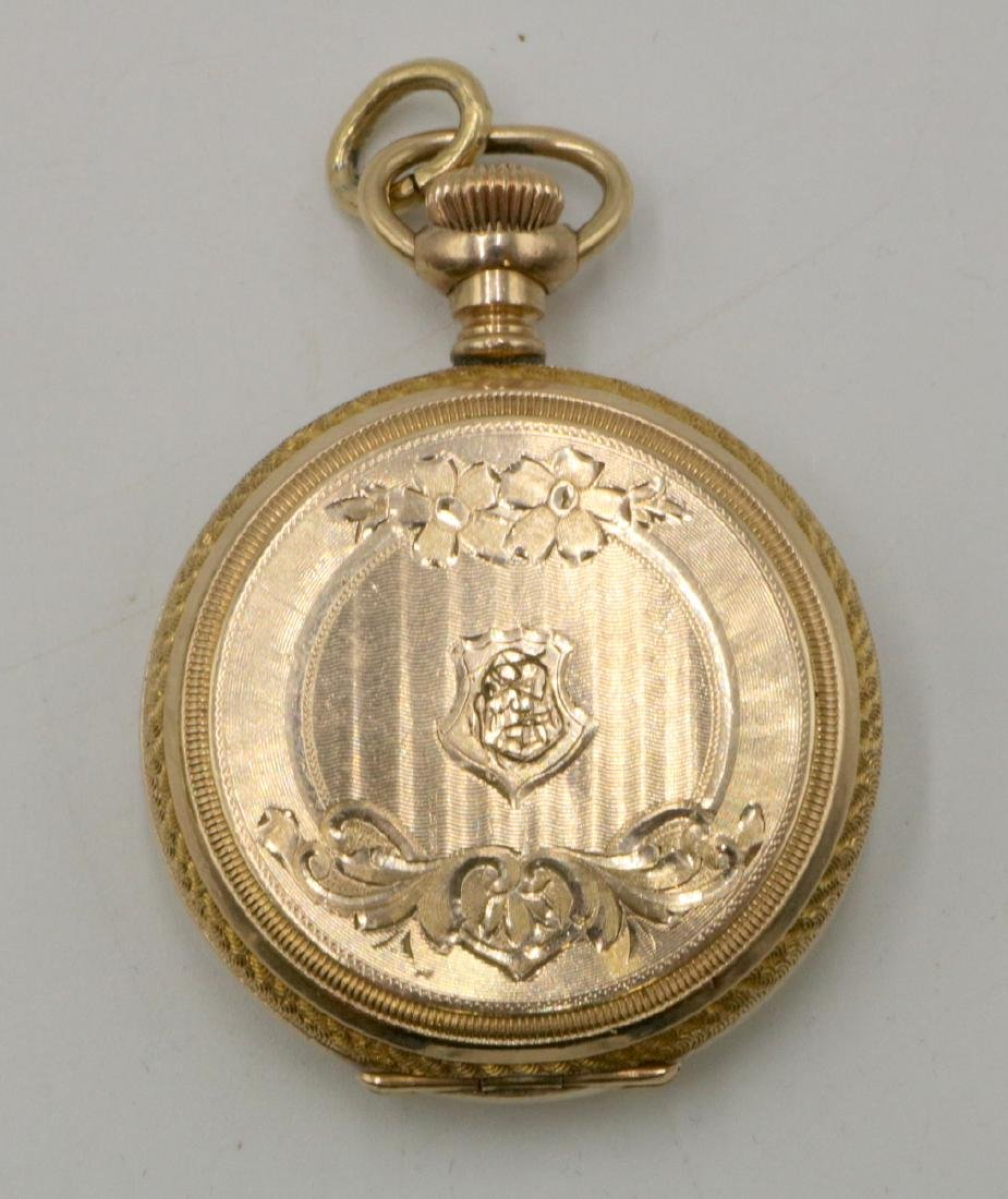 14Kt Gold Filled Pocket Watch - 2