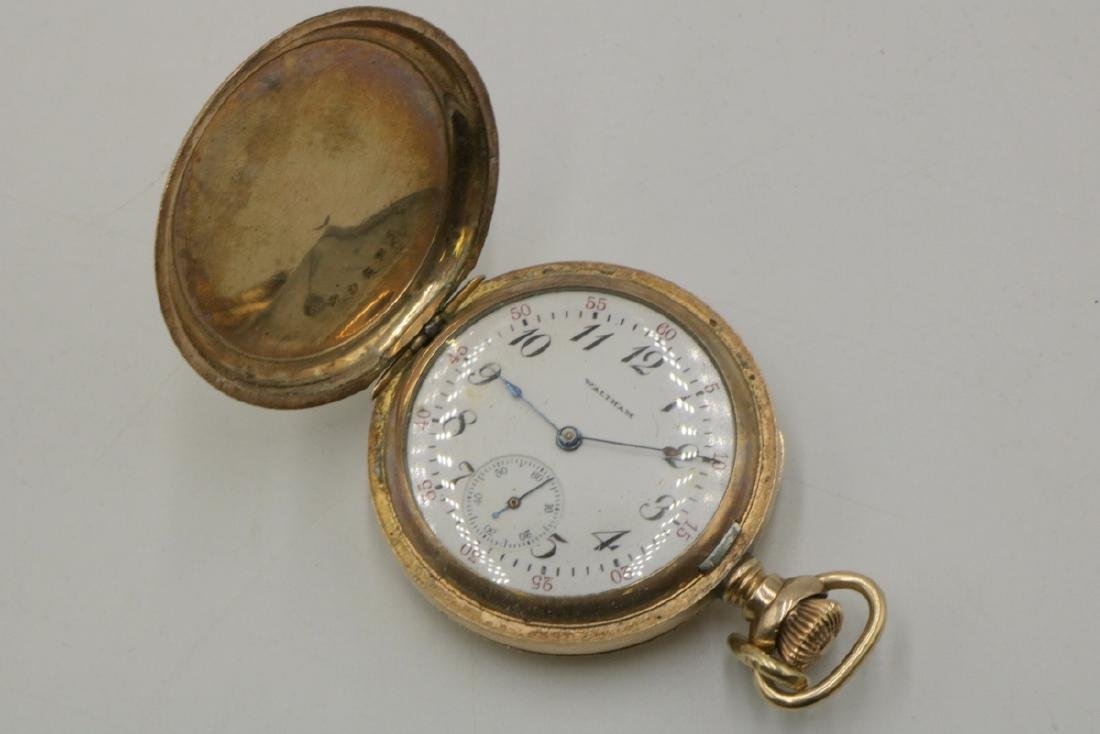 14Kt Gold Filled Pocket Watch - 3