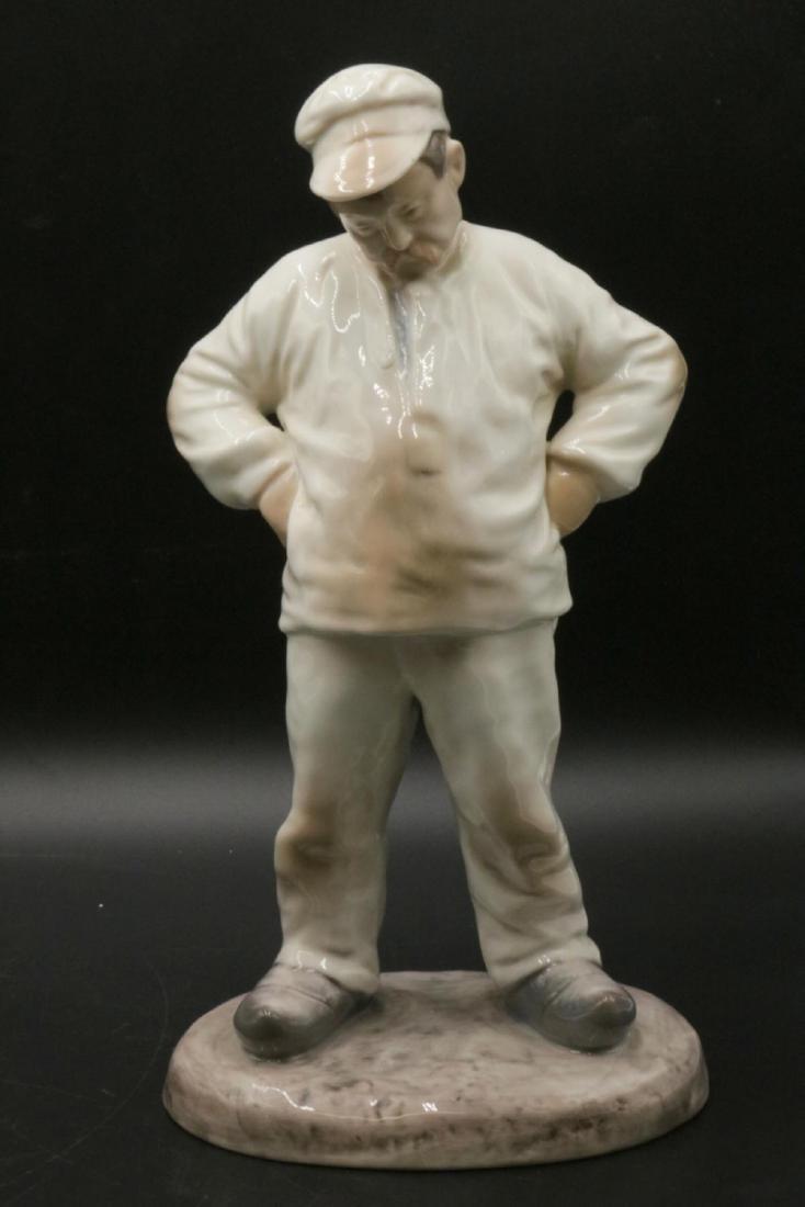 "Bing & Grondahl ""Mason"" #1786 Porcelain Figure"